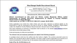 WBHRB Recruitment Notification 2020 Released For Driver Posts, Check At wbhrb.in
