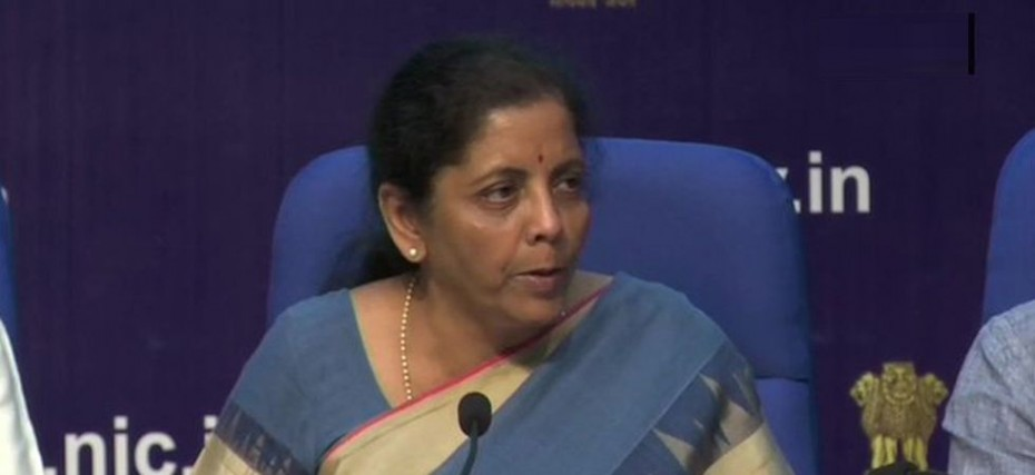 India S Gdp Expansion Much Higher Than Global Growth Fm Nirmala
