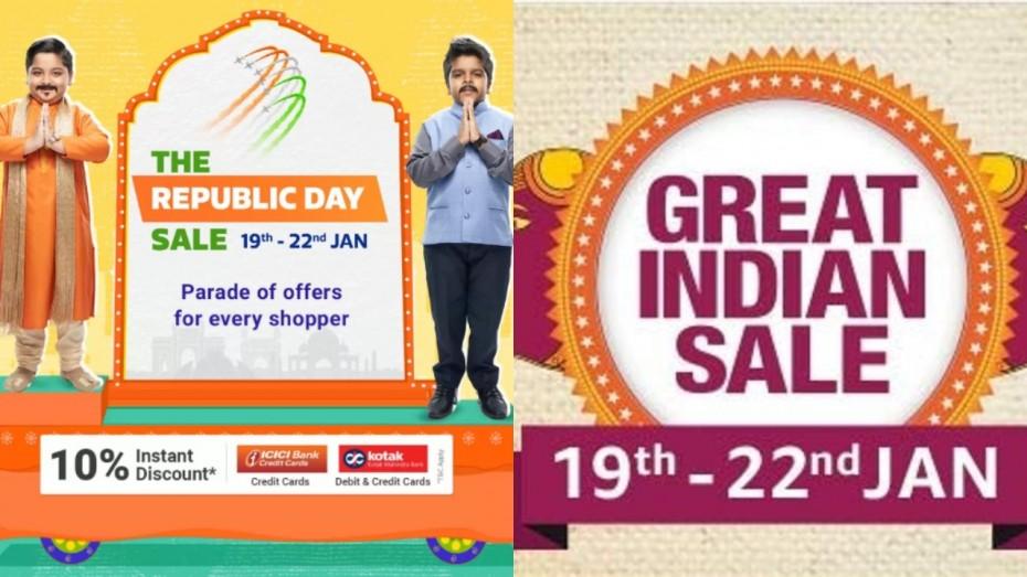 Flipkart Republic Day Sale Amazon Great Indian Sale 2020 Best